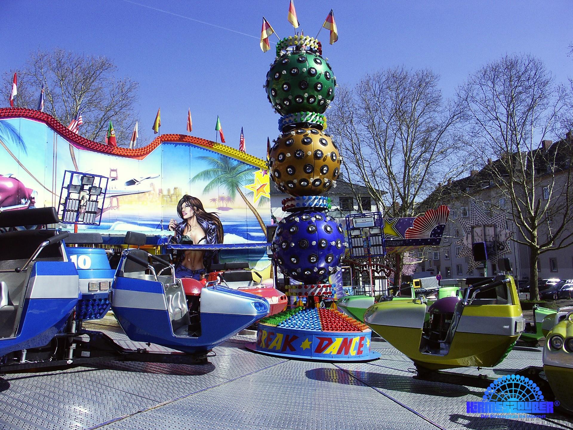 Wiesbaden, Frühlingsfest vom 06.04. bis 09.04.2018